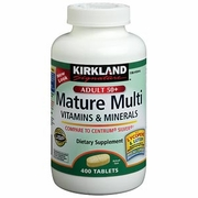 Kirkland Signature Mature Adult MultiVitamin with Lutein